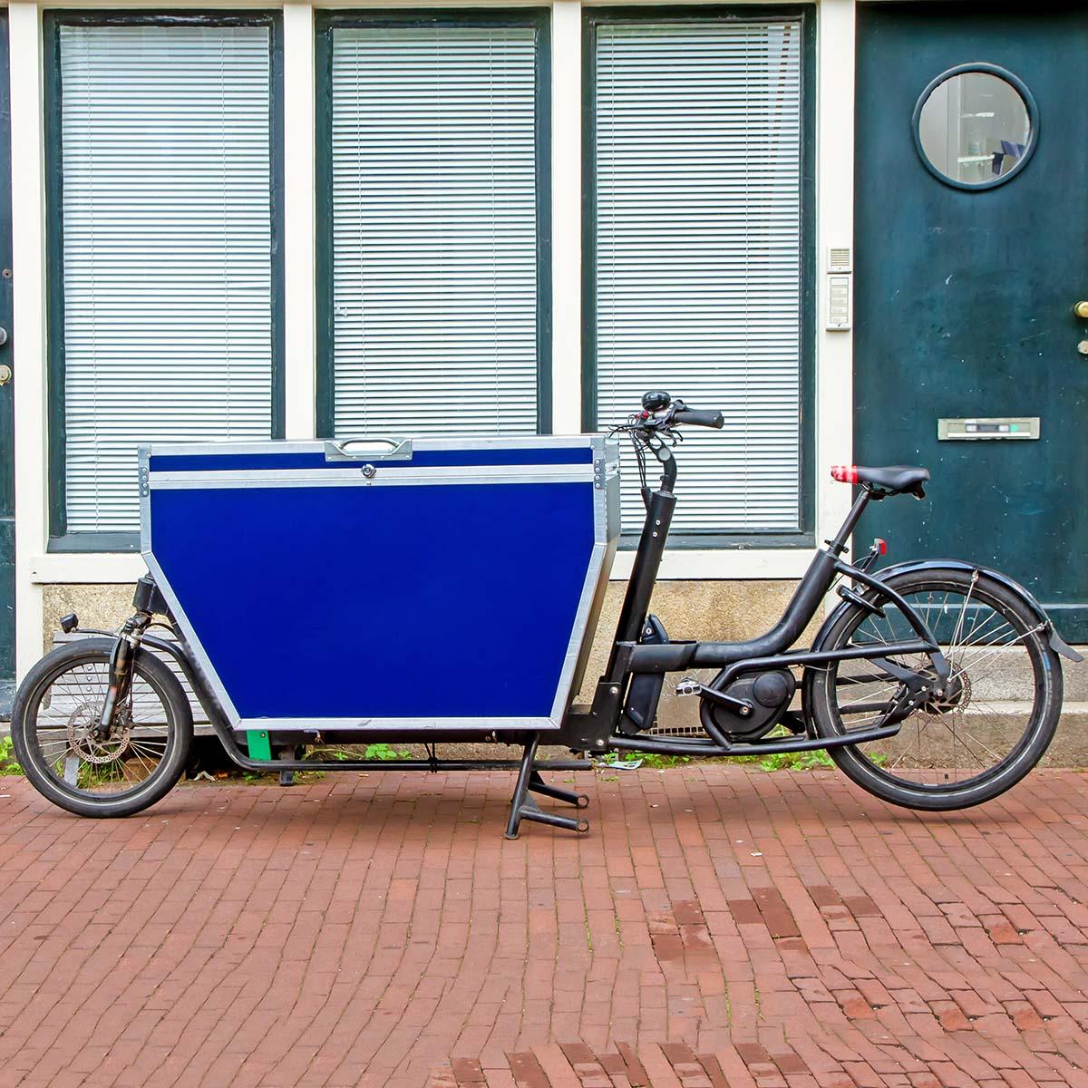 Projekt e-Mobilität Fahrradstadt Förderung Förderprogramm Lastenräder Lastenfahrrad Fahrrad Fahrradkurier Kurier Transportbox Mobilität Verkehr Umwelt City Fuggerstadt PRO AUGSBURG Fraktion Verein Stadtrat Antrag
