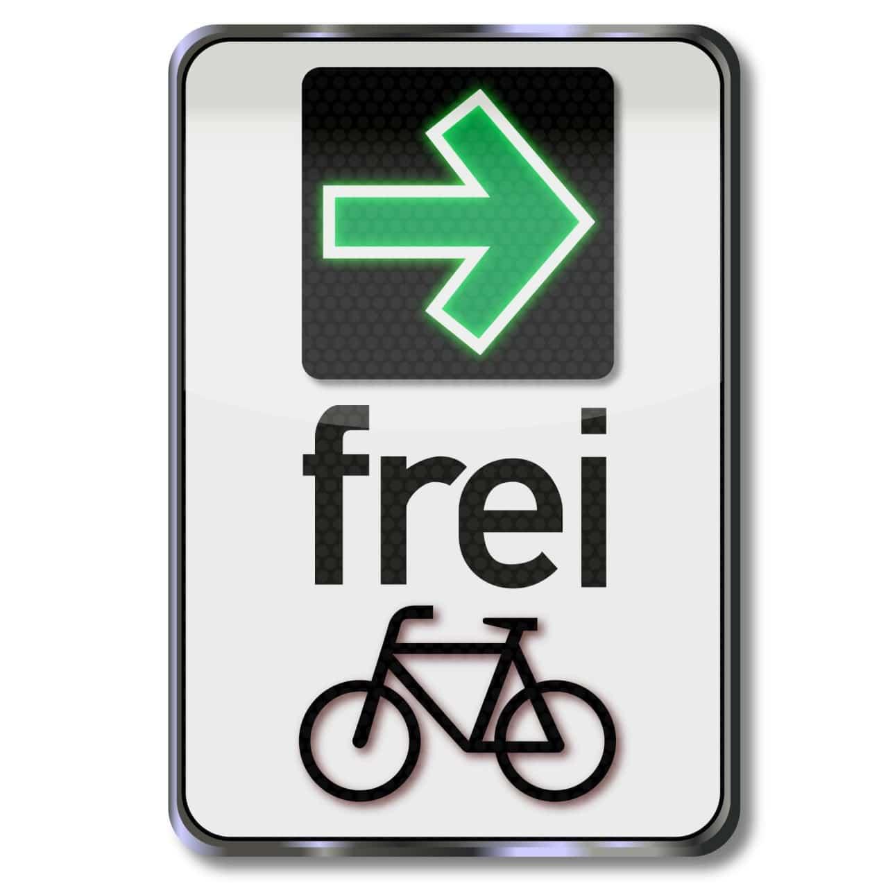 Grüner Pfeil Radfahrer Radler Abbiegepfeil Ampel Rotlicht Grünpfeil Pilotprojekt Fahrradstadt Verkehr PRO AUGSBURG Antrag