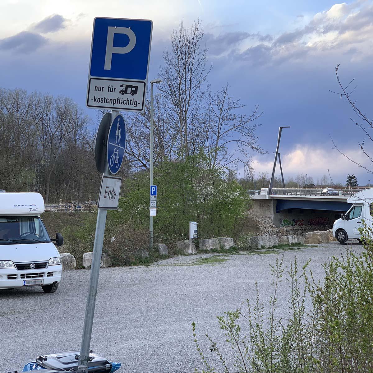 Wohnmobilisten Stellplätze Wertach Sportanlage Süd Messe Reese Park Wohnmobil Urlaub Tourismus Verkehr PRO AUGSBURG Antrag Foto Andreas Zilse
